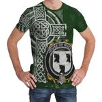Irish Family, Ruxton Family Crest Unisex T-Shirt Th45