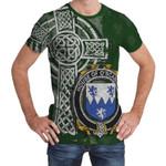 Irish Family, Scanlon or O'Scanlan Family Crest Unisex T-Shirt Th45