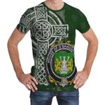 Irish Family, Shaughnessy or O'Shaughnessy Family Crest Unisex T-Shirt Th45
