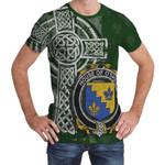 Irish Family, Shea or O'Shee Family Crest Unisex T-Shirt Th45