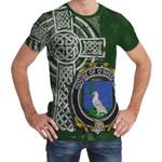 Irish Family, Sheehan or O'Sheehan Family Crest Unisex T-Shirt Th45