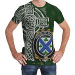 Irish Family, Slater or Slator Family Crest Unisex T-Shirt Th45