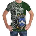 Irish Family, Smiley or Smyly Family Crest Unisex T-Shirt Th45