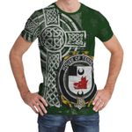 Irish Family, Tennent Family Crest Unisex T-Shirt Th45