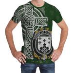 Irish Family, Tighe or O'Teague Family Crest Unisex T-Shirt Th45