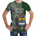 Irish Family, Tirry Family Crest Unisex T-Shirt Th45