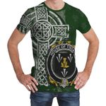 Irish Family, Tisdall or Tisdale Family Crest Unisex T-Shirt Th45