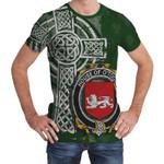 Irish Family, Toole or O'Toole Family Crest Unisex T-Shirt Th45