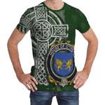 Irish Family, Trehy or O'Trehy Family Crest Unisex T-Shirt Th45