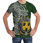 Irish Family, Trumbull or Turnbull Family Crest Unisex T-Shirt Th45