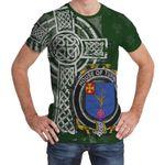 Irish Family, Turnly Family Crest Unisex T-Shirt Th45