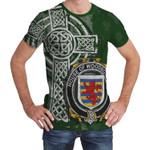 Irish Family, Woodbourne Family Crest Unisex T-Shirt Th45