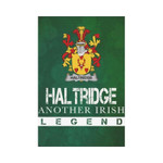 Irish Garden Flag, Haltridge Family Crest Shamrock Yard Flag A9