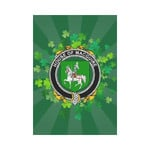 Irish Garden Flag, Macguire Family Crest Shamrock Yard Flag A9