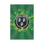 Irish Garden Flag, O'Kennedy Family Crest Shamrock Yard Flag A9