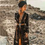 Witchcraft Kimono Duster TH19