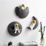 The Space Moon Chill Wall Art TH10