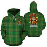 Alister or McAlister Ireland Hoodie Irish National Tartan (Pullover) | Women & Men | Over 1400 Crests
