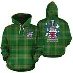 Aldborough Ireland Hoodie Irish National Tartan (Pullover) | Women & Men | Over 1400 Crests