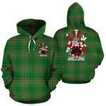 Athy Ireland Hoodie Irish National Tartan (Pullover) | Women & Men | Over 1400 Crests