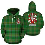 Barron Ireland Hoodie Irish National Tartan (Pullover) | Women & Men | Over 1400 Crests