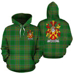 Becket Ireland Hoodie Irish National Tartan (Pullover) | Women & Men | Over 1400 Crests