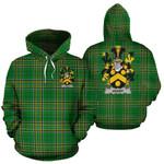 Avery Ireland Hoodie Irish National Tartan (Pullover) | Women & Men | Over 1400 Crests