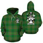 Balfour Ireland Hoodie Irish National Tartan (Pullover)   Women & Men   Over 1400 Crests