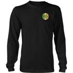 Proud To Be Irish T-Shirts G8 District Long Sleeve Shirt / Black S