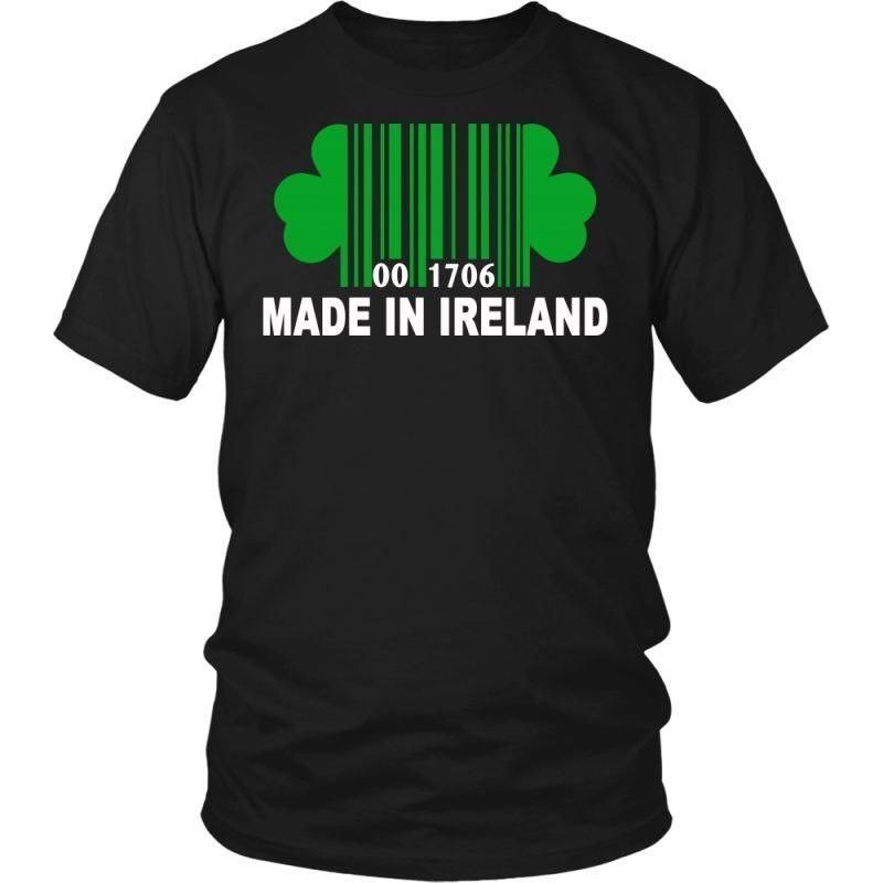 Made In Ireland N1 District Unisex Shirt / Black S T-Shirts