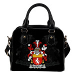 McQuillan Ireland Shoulder Handbag - Irish Family Crest | Highest Quality Standard