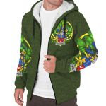 McLoughlin or Loughlin Ireland Sherpa Hoodie Celtic and Shamrock | Over 1400 Crests | Clothing | Apparel
