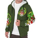 Haugh or O'Hough Ireland Sherpa Hoodie Celtic and Shamrock | Over 1400 Crests | Clothing | Apparel