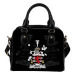 Maul or Maule Ireland Shoulder Handbag - Irish Family Crest | Highest Quality Standard