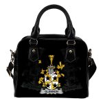 Glennon or Glenane Ireland Shoulder Handbag - Irish Family Crest | Highest Quality Standard