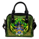 Gervais Ireland Shoulder HandBag Celtic Shamrock | Over 1400 Crests | Bags | Premium Quality