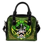 Wethers Ireland Shoulder HandBag Celtic Shamrock | Over 1400 Crests | Bags | Premium Quality