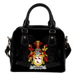Cairnes Ireland Shoulder Handbag - Irish Family Crest | Highest Quality Standard