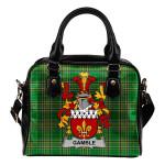 Gamble Ireland Shoulder Handbag Irish National Tartan    Over 1400 Crests   Bags   Water-Resistant PU leather
