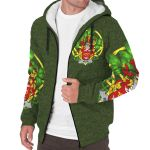 Wilde Ireland Sherpa Hoodie Celtic and Shamrock | Over 1400 Crests | Clothing | Apparel