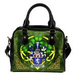 Wheatley Ireland Shoulder HandBag Celtic Shamrock | Over 1400 Crests | Bags | Premium Quality