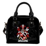 Tickell Ireland Shoulder Handbag - Irish Family Crest | Highest Quality Standard