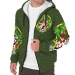 Hyland or O'Hyland Ireland Sherpa Hoodie Celtic and Shamrock | Over 1400 Crests | Clothing | Apparel