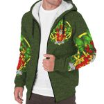 Leahy or O'Lahy Ireland Sherpa Hoodie Celtic and Shamrock | Over 1400 Crests | Clothing | Apparel