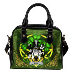 Reid Ireland Shoulder HandBag Celtic Shamrock   Over 1400 Crests   Bags   Premium Quality