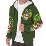 Handcock Ireland Sherpa Hoodie Celtic and Shamrock | Over 1400 Crests | Clothing | Apparel
