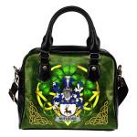 Rutledge Ireland Shoulder HandBag Celtic Shamrock | Over 1400 Crests | Bags | Premium Quality