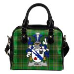 Riall or Ryle Ireland Shoulder Handbag Irish National Tartan    Over 1400 Crests   Bags   Water-Resistant PU leather