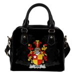 Vere Ireland Shoulder Handbag - Irish Family Crest | Highest Quality Standard
