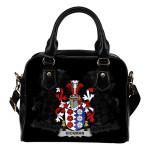 Hickman Ireland Shoulder Handbag - Irish Family Crest   Highest Quality Standard